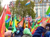 Eritrean & Ethiopian Communities in London held a Joint Peaceful Demonstration