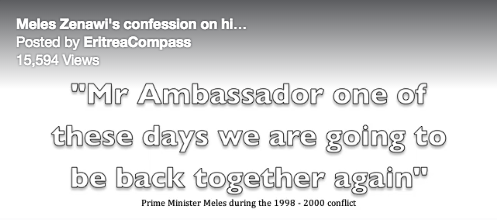 Confessions of an Expansionist Hit Man Meles Zenawi