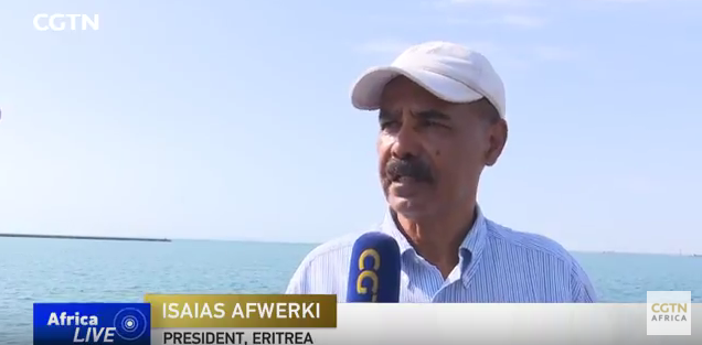 President Isaias Afewerki Conducts a Short Interview with CGTN Africa