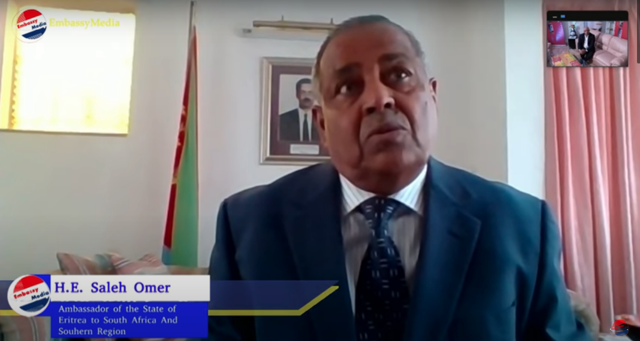 EmbassyMedia - Interview with H.E. Salih Omar, Eritrea Ambassador to South Africa