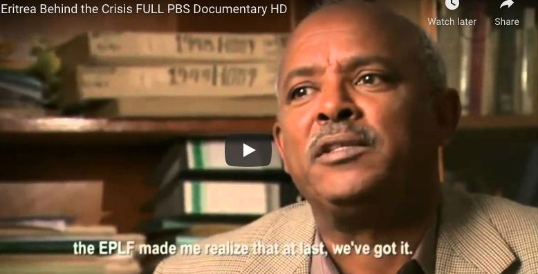 Eritrea Behind the Crisis